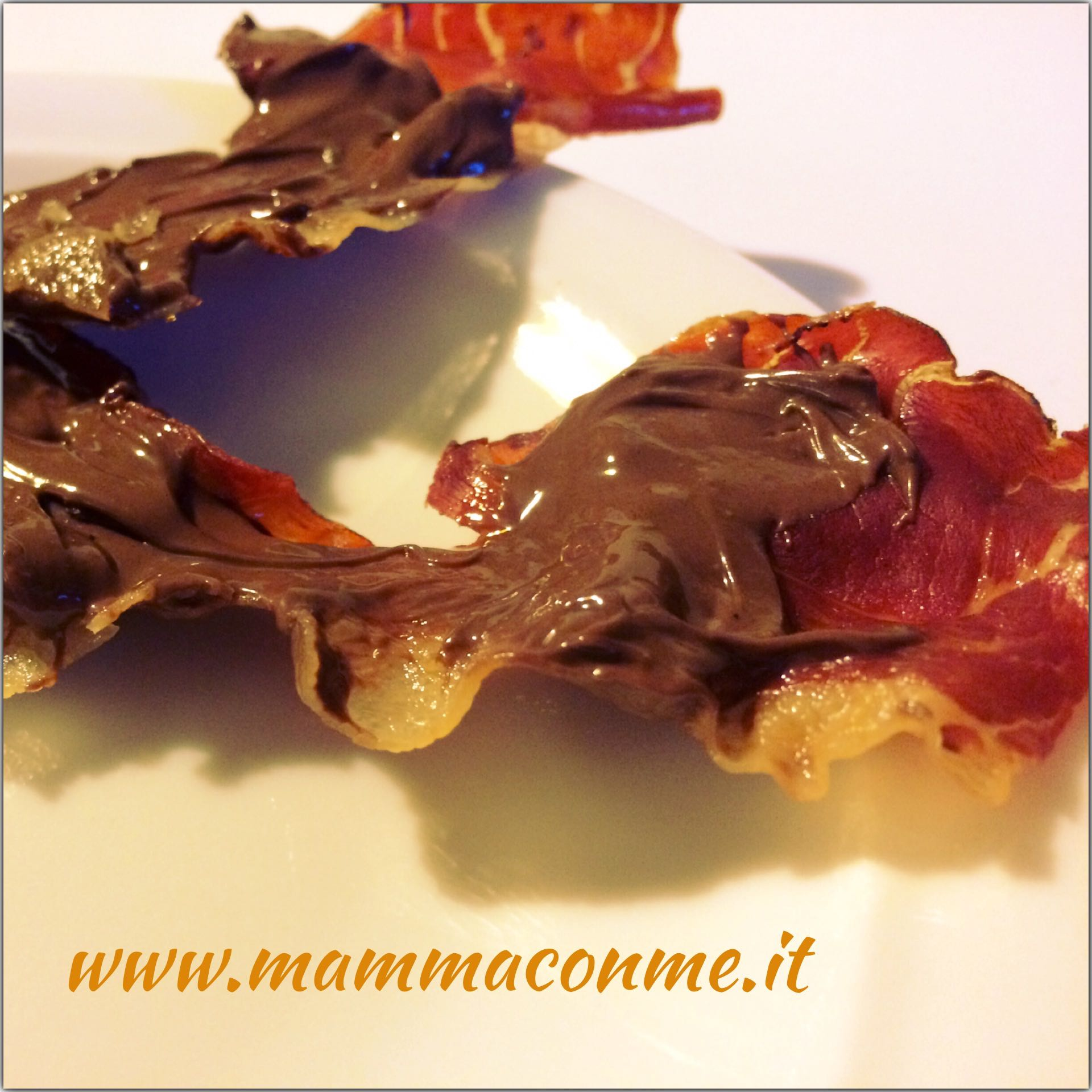 ricetta speck e nutella per party, aperitivo, finger food